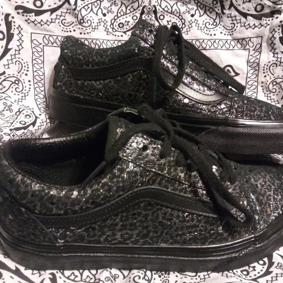 vans cheetah print shoes